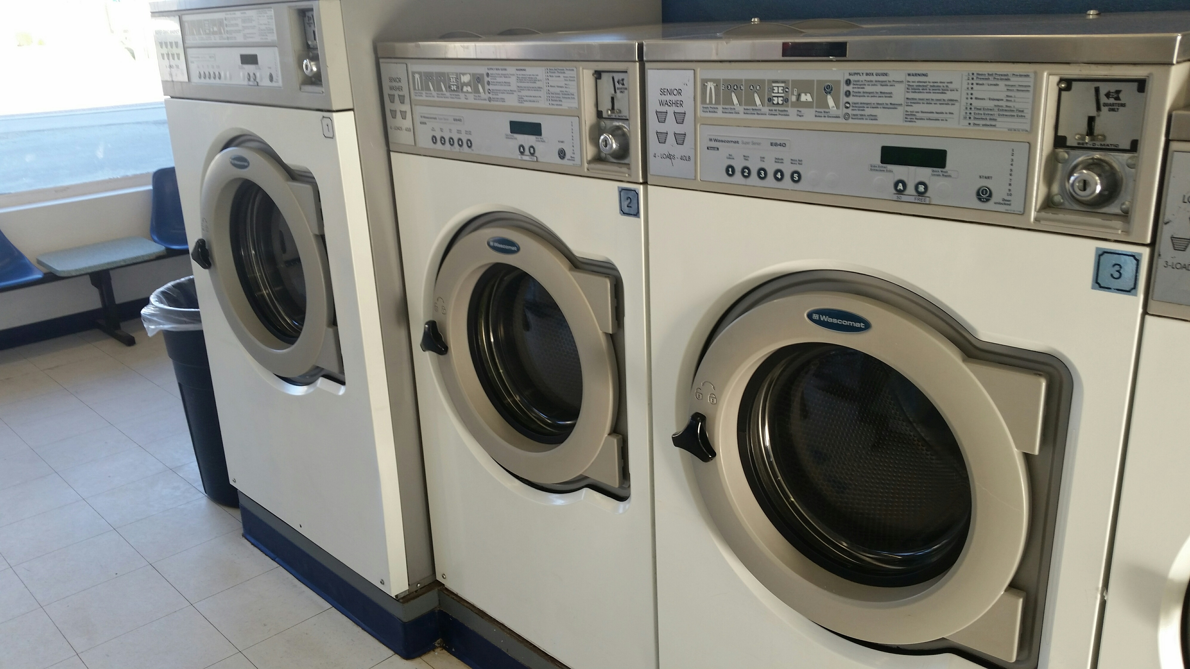 coin laundry package deal wascomat washers huebsch. Black Bedroom Furniture Sets. Home Design Ideas