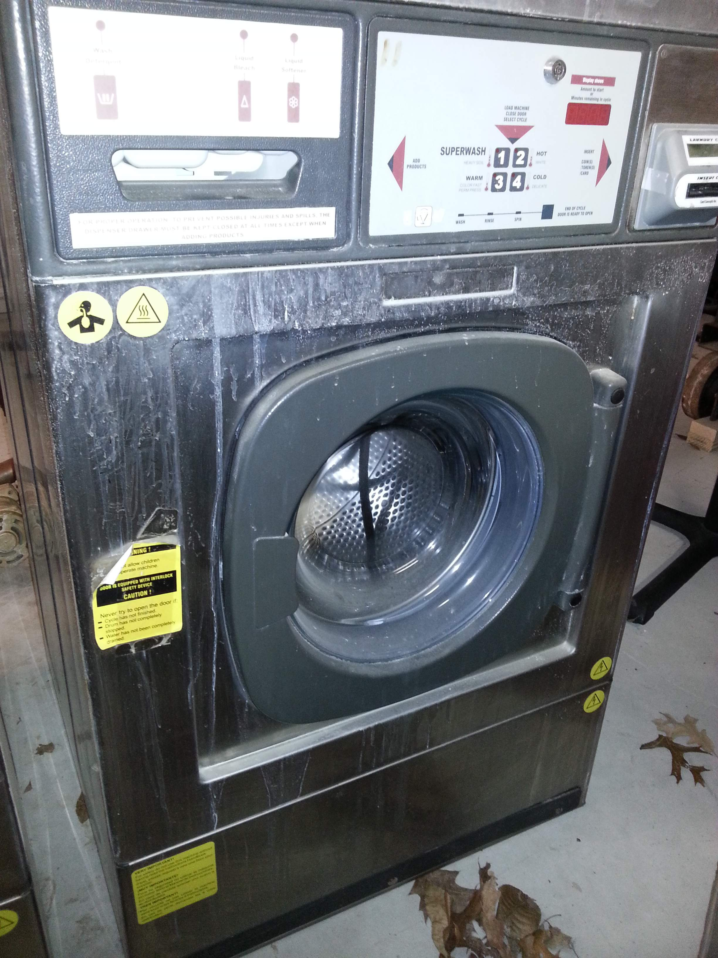 Continental 20lb Double Load Washers Pre Owned Commercial