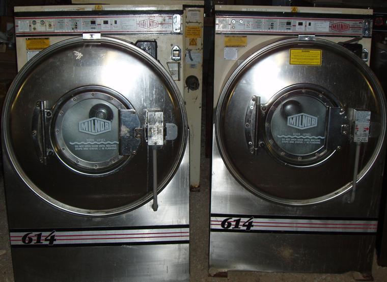 milnor washer machine
